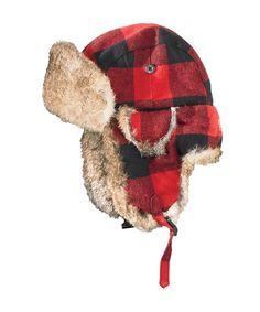 Buffalo Check Trapper Wool Hat Trapper Hats 85bf7e8f674b