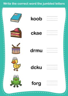 15 Free English Worksheets For Kids