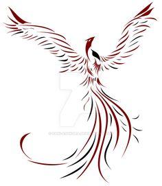 Phoenix Resurrection by Saki Asakura on DeviantArt significant signs deviantART Phoenix Resurrection SakiAsakura significant Signs Phoenix Tattoo Feminine, Tribal Phoenix Tattoo, Small Phoenix Tattoos, Phoenix Tattoo Design, Body Art Tattoos, New Tattoos, Sleeve Tattoos, Cool Tattoos, Tatoos