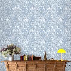 Comblé Wallpaper Roll Blue   by Tres Tintas Barcelona