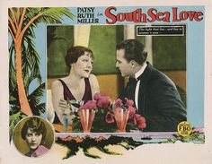 Lobby Card from the film South Sea Love