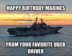 Find and save Happy Birthday Marine Memes Marine Corps Humor, Us Marine Corps, Marine Jokes, Marine Mom, Military Jokes, Military Veterans, Navy Veteran, Navy Military, Military Life