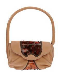 GIUSEPPE ZANOTTI Handbag. #giuseppezanotti #bags #hand bags #pvc #suede