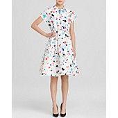 kate spade new york Paint Splatter Shirt Dress; I like the colors/print