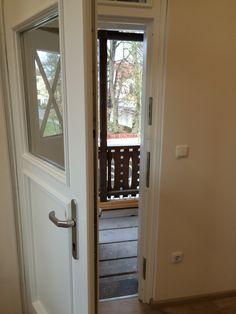 Doppeltüre mit Gedämmter Tür versehen