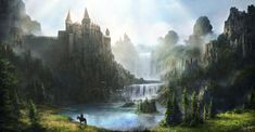 Welcome back to the ongoing journey of artistic accomplishment and celebration.  This continues the list of amazing fantasy art that I cherish and hope to organize into an enjoyable list for your s...