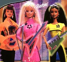 Beyond Pink Barbies! Remember they came with their own cassette?