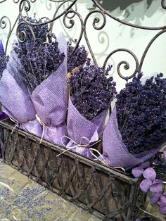 We love lavender! Th