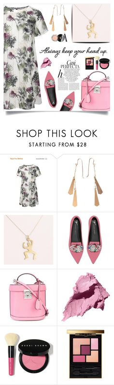"""""""Always keep your head up!"""" by samra-bv ❤ liked on Polyvore featuring Chanel, Giuseppe Zanotti, Mark Cross, Whiteley, Bobbi Brown Cosmetics and Yves Saint Laurent"""