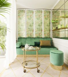 Tata Harper Spa Room at Le Bristol. Decor, Room, Vogue Living, Spa, Interior, Home, Treatment Room, Fine Hotels, Furnishings