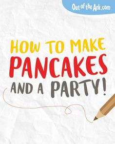 Ideas for how to celebrate Pancake Day for children. Includes an easy recipe for fluffy pancakes and activities for kids to enjoy both at school and home. Primary School Ideas, Teachers, Out of the Ark Music