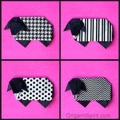Origami Sheep -Easy Video Tutorial