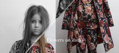 Kid's Wear - Flowers on Darks