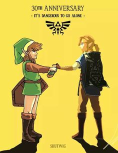 Well. That's one way of making every Zelda fan clutch their Link action figures…