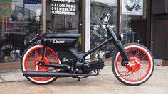 Visit the post for more. Honda Cub, Honda Scooters, Honda Bikes, Motor Scooters, Vintage Honda Motorcycles, Custom Motorcycles, Custom Moped, Custom Bikes, Estilo Cafe Racer