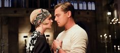 The Great Gatsby Photo with Leonardo DiCaprio and Carey Mulligan - Baz Luhrmann directs this highly-anticipated adaptation of the F. Scott Fitzgerald novel, due in theaters this summer. Jay Gatsby, Look Gatsby, Gatsby Style, 20s Style, Style Hair, Carey Mulligan, Scott Fitzgerald, Zelda Fitzgerald, Baz Luhrmann