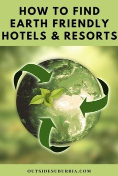 As travelers, are you conscious of the environmental impact? Tips to consider when looking for eco-friendly lodges, resorts, and sustainable hotels. #SustainableHotels #GreenHotels #OutsideSuburbia #EcoLodges #EcoResorts #ResponsibleTravel Travel Advice, Travel Guides, Travel Tips, Hotels And Resorts, Best Hotels, Luxury Hotels, Amazing Destinations, Travel Destinations, Hotels For Kids