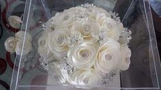 ramos de novia de cristal - Buscar con Google