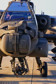 The baddest of the bad. AH-64 Apache