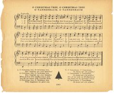 Free Printable Antique Christmas Music  ~~via Knick of Time knickoftimeinteriors.blogspot.com