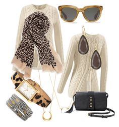 """""""Leopard is the New Black. Stella & Dott"""" by kmathews62 on Polyvore featuring Stella & Dot and CAbi"""