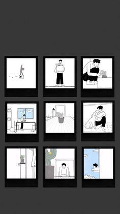 Exo Album, Exo Lockscreen, Exo Fan Art, Photo Wall Collage, Cute Cartoon Wallpapers, Kyungsoo, K Idols, Wallpaper Quotes, Cute Drawings