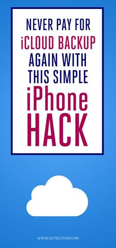 Are you looking for tips to free up your iCloud storage? This step-by-step guide will help you make space if your iPhone storage is full. hacks A simple iPhone hack for those whose iCloud storage is full Cell Phone Hacks, Iphone Life Hacks, Smartphone Hacks, Technology Hacks, Computer Technology, Medical Technology, Technology Innovations, Teaching Technology, Technology Articles