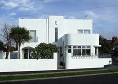 Art Deco home, Birchington-On-Sea, Kent
