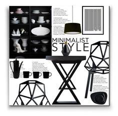 """Minimalist Style"" by marionmeyer on Polyvore featuring interior, interiors, interior design, Zuhause, home decor, interior decorating, Magis, Eleanor Stuart, iittala und Kartell"