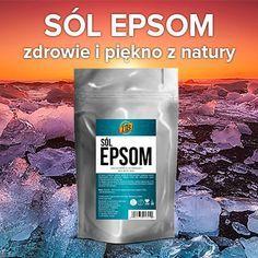 Sól Epsom, czyli siarczan magnezu, jest jednym z najlepiej przyswajalnych źródeł tego pierwiastka. Poznaj 10 prostych sposobów na jego wykorzystanie. Health Tips, Health Care, Pepsi, Remedies, Health Fitness, Hair Beauty, 1, Skin Care, Good Things