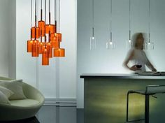 The Spillray Pendant Lamps are Whimsically Contemporary #homedecor trendhunter.com