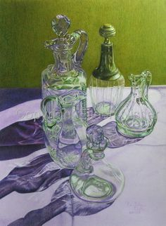 Colored Pencil work by Eileen Nistler