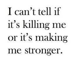 Sometimes I can't tell....
