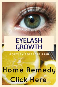 Eyelash Growth Natural Home Remedy! By combining these simple ingredients you can grow longer and thicker Lashes FAST!