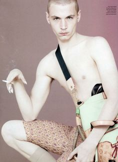 Love Magazine - Give Me Back My Man by David Sims