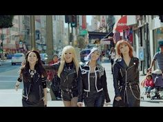 2NE1 - HAPPY M/V OH MY GOD. OK OK OK. THIS IS SO AWESOME. I really like the song. CL looks nice with just about any hair, but I was gettin used to the black hair. Eh, whatever. Minzy looked super cute with the blue/purple hair. Dara always has the weirdest hair, seriously. Poor Dara. But she looked really pretty. Even Bom looked nice!! I have never been disappointed with anything 2NE1 related. Their music is amazing. *obnoxious clapping*