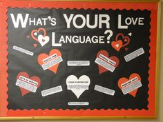 February Bulletin Board. Love this! Helpful and interesting.