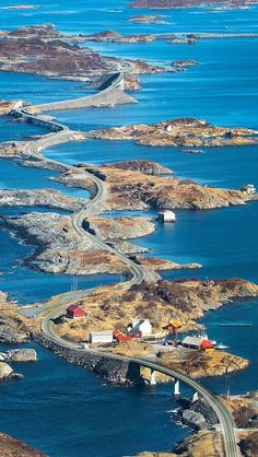 Atlanterhavsveien, Norway - Flight, Travel Destinations and Travel Ideas Beautiful Places To Visit, Wonderful Places, Amazing Places, Places To Travel, Places To See, Travel Destinations, Places Around The World, Around The Worlds, Norway Travel