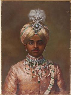Bejeweled Maharaja of Mysore. © V&A Images/Victoria and Albert Museum…