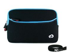Samsung Galaxy 7-inch Android Tablet Black and Blue Neoprene Glove Sleeve Case Series with Front Pocket for Extra Storage + NextDiaTM Velcro Cable Wraper by Kroo. Save 11 Off!. $7.99. Samsung Galaxy 7-inch Android Tablet Black and Blue Neoprene Glove Sleeve Case with Zipper Pocket for Extra Storage Neoprene Sleeve Case with Zipper Closure for Samsung Galaxy 7-inch Android Tablet. Its portable and compact design allows it to be carried alone or inside your Laptop bag, Tote, Briefcase, Bagp...