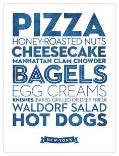 Delicious City Prints by Roni Lagin