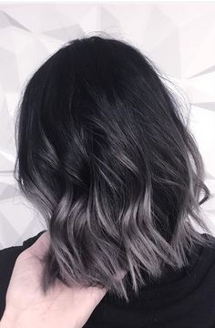 Hair Tips: 99 Modern Short Ombre Hair Color Ideas. Cute Hairstyles For Short Hair, Short Hair Cuts, Curly Hair Styles, Retro Hairstyles, Haircut Short, Pixie Cuts, Straight Hairstyles, Ombre Hair Color, Gray Ombre