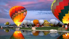 Take a look at this stunning timelapse video of the 42nd annual International Balloon Fiesta in Albuquerque, New Mexico. Description from thehoopla.com.au. I searched for this on bing.com/images