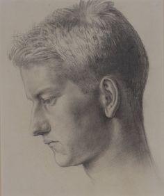 Noel Carrington by Dora Carrington (British, 1893-1932), c.1912. Pencil on paper.