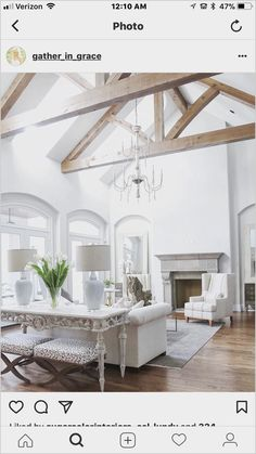 Living Room Ceiling Beams Unique Pin by ashley Connolly On Build Me ❤️ In 2019 Design Living Room, Family Room Design, Home Living Room, Living Room Furniture, Living Room Decor, Modern Furniture, Outdoor Furniture, Rustic Furniture, Furniture Design