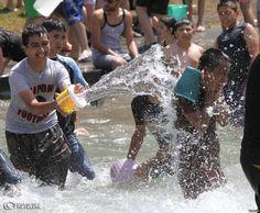 Celebrating Vardavar, Armenia's Water Festival