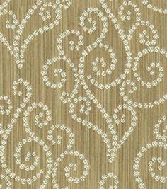 Upholstery Fabric-Waverly Synergy Sienna