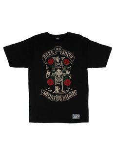 Rocksmith Clothing Compton Rose T-Shirt - Black $28.00
