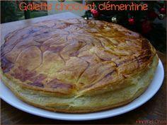 Galette chocolat clémentine