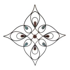Olivia Stone Swirl Metal Plaque | Kirklands
